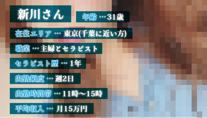 新川さん(31歳)